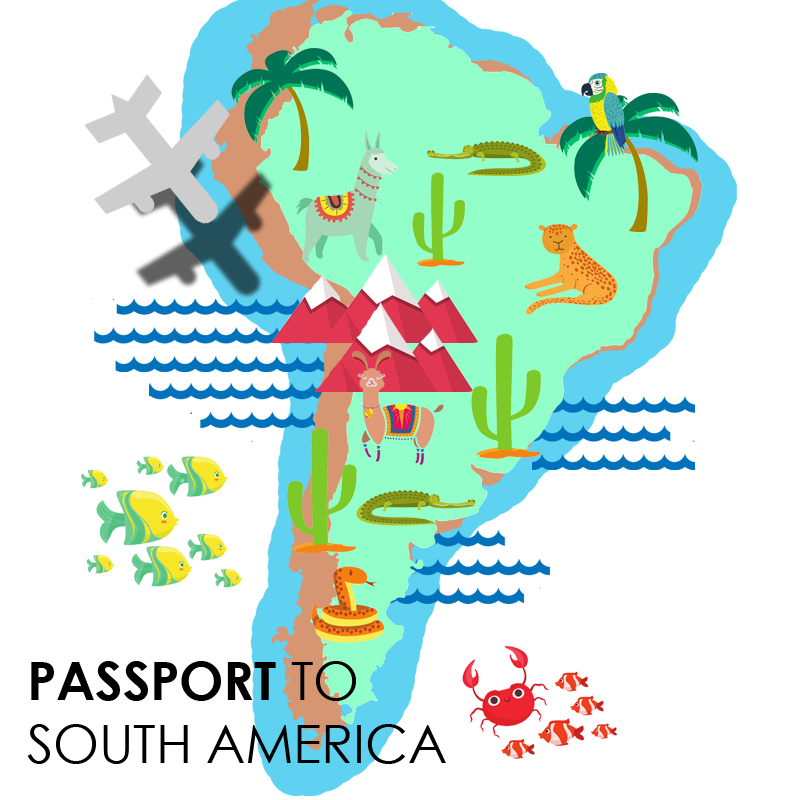 passport to south america logo