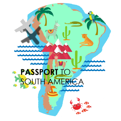 passport to south america logo website